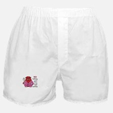 NO TALKING UNTIL COFFEE Boxer Shorts
