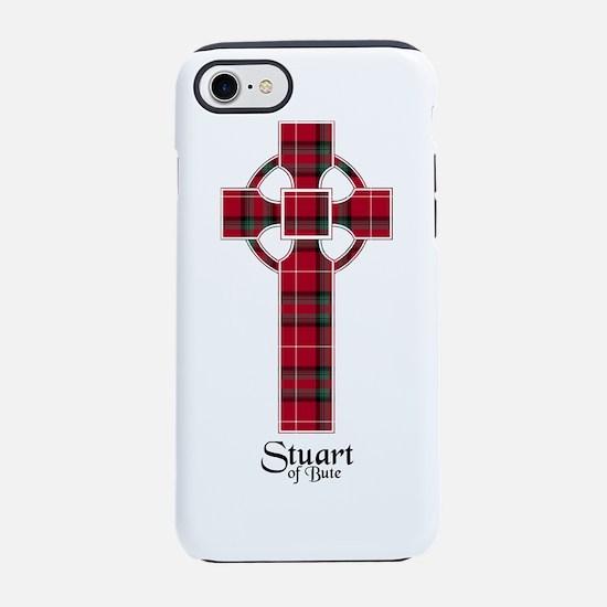 Cross-StuartBute iPhone 8/7 Tough Case