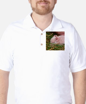 Sleeping Baby Golf Shirt