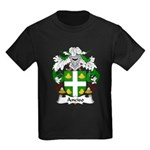 Anciso Family Crest Kids Dark T-Shirt