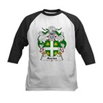 Anciso Family Crest Kids Baseball Jersey