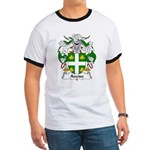 Anciso Family Crest Ringer T