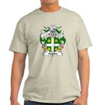 Anciso Family Crest Light T-Shirt