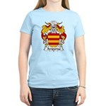 Ampurias Family Crest Women's Light T-Shirt
