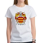Ampurias Family Crest Women's T-Shirt