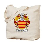 Ampurias Family Crest Tote Bag