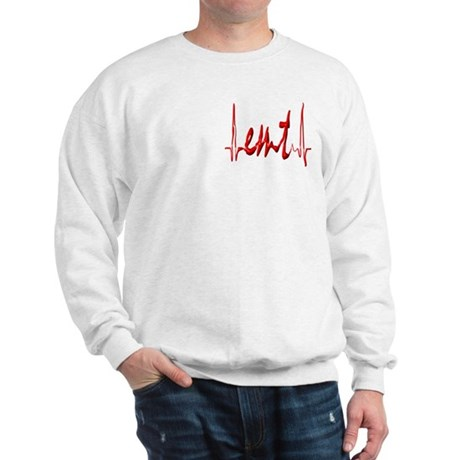 Design on Back, EMT on Front Sweatshirt