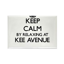Keep calm by relaxing at Kee Avenue Alabam Magnets