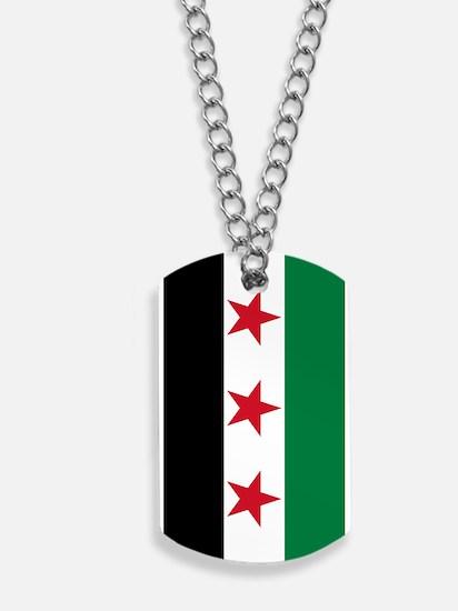 Syrian National Coalition Flag Dog Tags