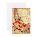 Flat Idaho Greeting Cards (Pk of 10)