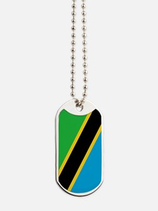 Tanzania Flag Dog Tags