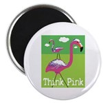 Think Pink Flamingos 2.25