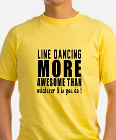 Line dancing more awesome designs T