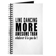 Line dancing more awesome designs Journal