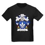 Amezua Family Crest Kids Dark T-Shirt