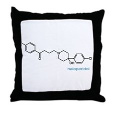 Haloperidol Throw Pillow