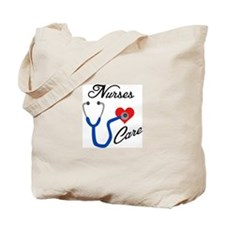 NURSES CARE Tote Bag