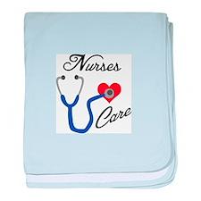 NURSES CARE baby blanket
