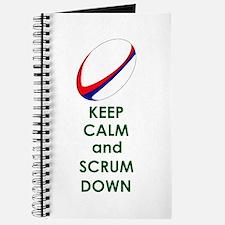 KEEP CALM SCRUM DOWN Journal