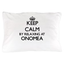 Keep calm by relaxing atomea Hawaii Pillow Case