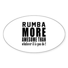 Rumba more awesome designs Decal