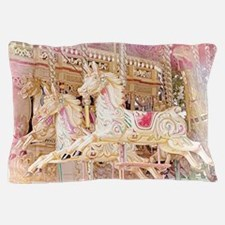 Merry-go-round pink Pillow Case