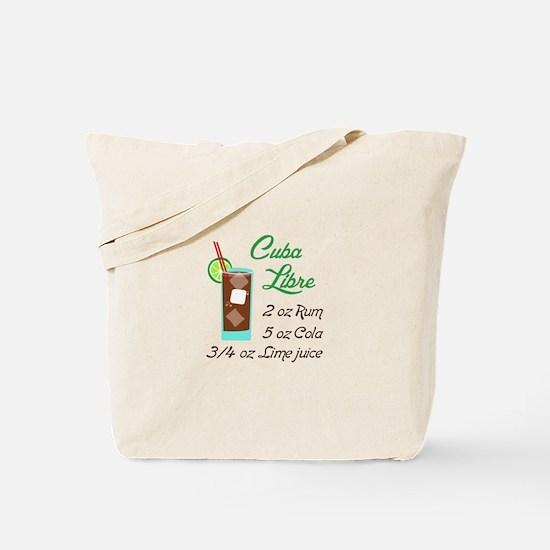 RETRO CUBA LIBRE Tote Bag