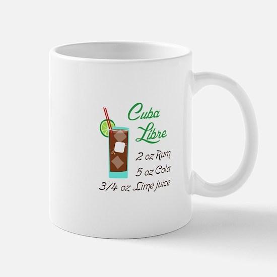 RETRO CUBA LIBRE Mugs