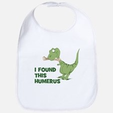 Cartoon Dinosaur Bib
