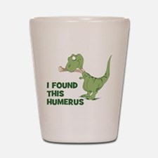 Cartoon Dinosaur Shot Glass