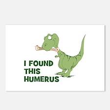 Cartoon Dinosaur Postcards (Package of 8)