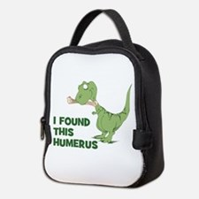 Cartoon Dinosaur Neoprene Lunch Bag