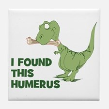 Cartoon Dinosaur Tile Coaster
