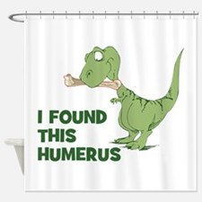 Cartoon Dinosaur Shower Curtain