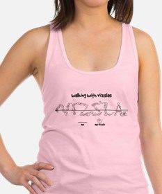 Walking With Vizslas Racerback Tank Top