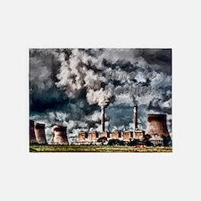 Environmental Pollution 5'x7'Area Rug
