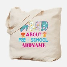Personalized Retro Floral 1st Year Annive Tote Bag