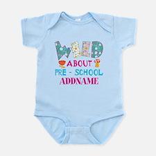 Wild About Pre-K Kids Back To Scho Infant Bodysuit
