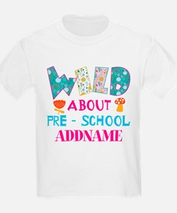 Wild About Pre-K Kids Back To S T-Shirt