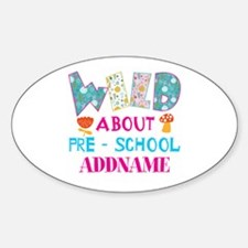 Wild About Pre-K Kids Back To Schoo Decal