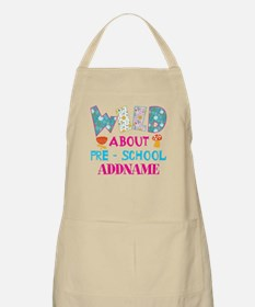 Wild About Pre-K Kids Back To School Apron