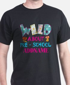 Wild About Pre-K Kids Back To School T-Shirt
