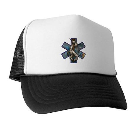 Rattlesnake Star of Life Trucker Hat
