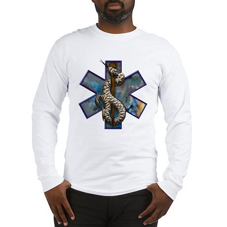 Rattlesnake Star of Life Large Logo Long Sleeve T-