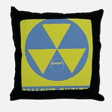 Fallout Shelter Throw Pillow
