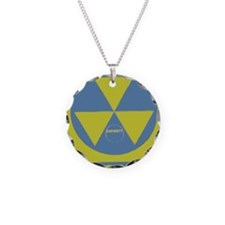 Fallout Shelter Necklace Circle Charm