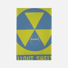 Fallout Shelter Rectangle Magnet