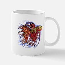 Fighting Fish 2 Mugs