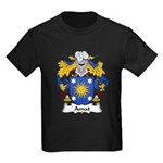 Amat Family Crest Kids Dark T-Shirt