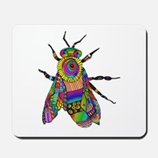 Painted Bee Mousepad